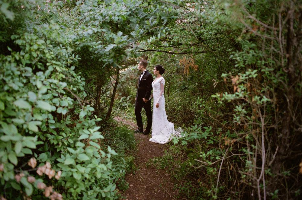 analogowa fotografia ślubna